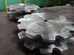 Piñones de acero para cadena