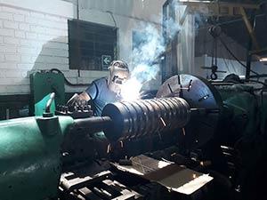 fabricación de cadenas industriales